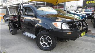2007 TOYOTA HILUX SR 4X4 GGN25R 07 UPGRADE CCHAS