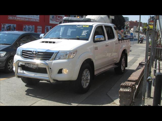 2013 TOYOTA HILUX SR5 4X4 KUN26R MY14 DUAL CAB PUP