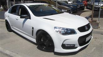 2016 HOLDEN COMMODORE SS BLACK EDITION VFII MY16 4D SEDAN