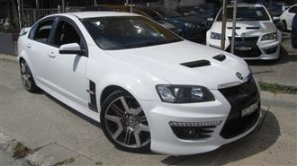 2010 HOLDEN SPECIAL VEHICLE GTS  E2 SERIES 4D SEDAN