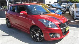 2013 SUZUKI SWIFT SPORT FZ MY13 5D HATCHBACK