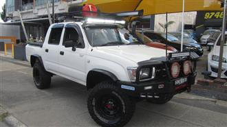1999 TOYOTA HILUX 4X4 LN167R DUAL CAB PUP