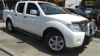 2013 NISSAN NAVARA ST-X 550 4X4 D40 MY12 DUAL CAB UTILITY
