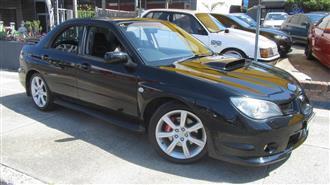 2006 SUBARU IMPREZA WRX AWD MY06 4D SEDAN