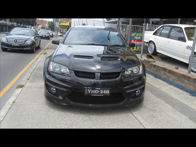 2009 HOLDEN SPECIAL VEHICLE MALOO R8 E2 SERIES UTILITY