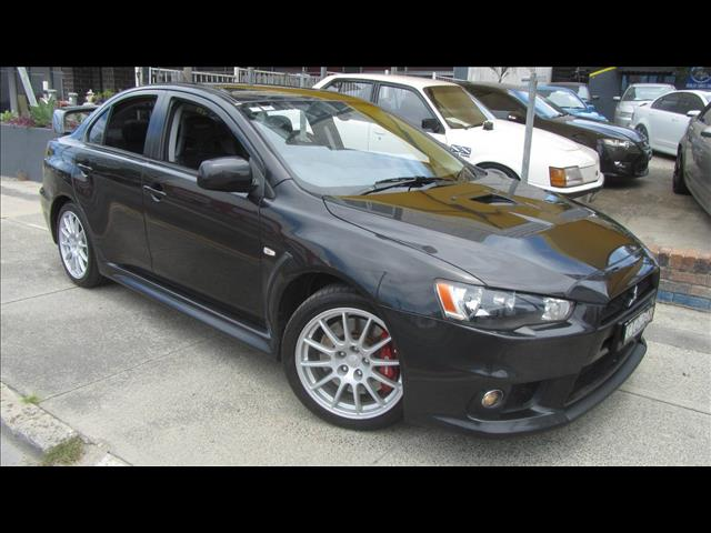 2012 MITSUBISHI LANCER EVOLUTION CJ MY13 4D SEDAN
