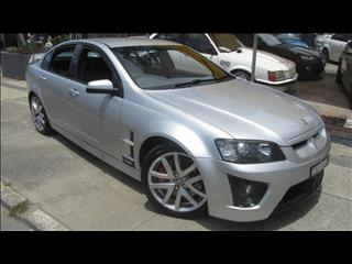 2008 HOLDEN SPECIAL VEHICLE CLUBSPORT R8 E SERIES MY08 UPGRADE 4D SEDAN