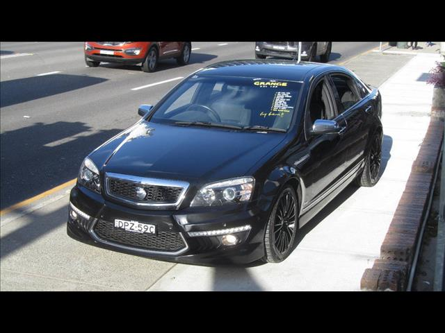 2010 HOLDEN SPECIAL VEHICLE GRANGE  WM3 4D SEDAN