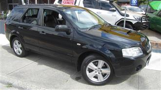 2007 FORD TERRITORY GHIA TURBO 4X4 SY MY07 UPGRADE 4D WAGON