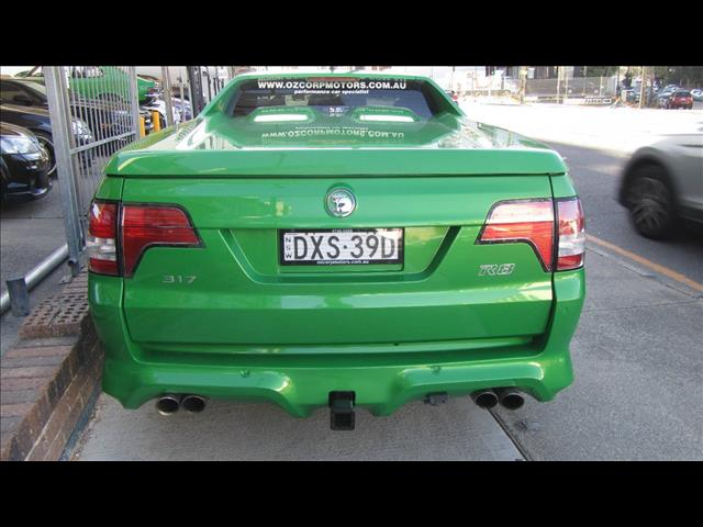 2009 HOLDEN SPECIAL VEHICLE MALOO R8 E SERIES MY08 UPGRADE UTILITY