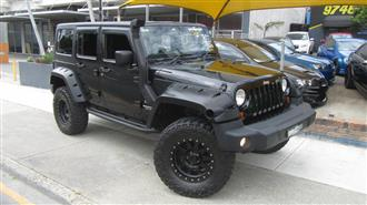 2011 JEEP WRANGLER UNLIMITED SPORT 4X4 JK MY11 4D SOFTTOP