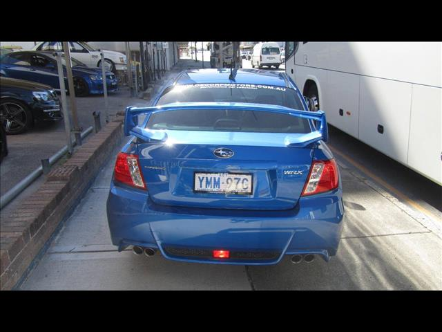 2013 SUBARU WRX RS40 AWD MY13 4D SEDAN