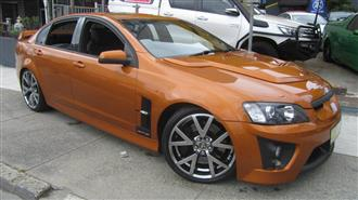 2007 HOLDEN SPECIAL VEHICLE GTS  E SERIES 4D SEDAN