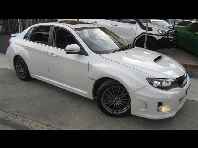 2013 SUBARU WRX PREMIUM AWD MY13 4D SEDAN