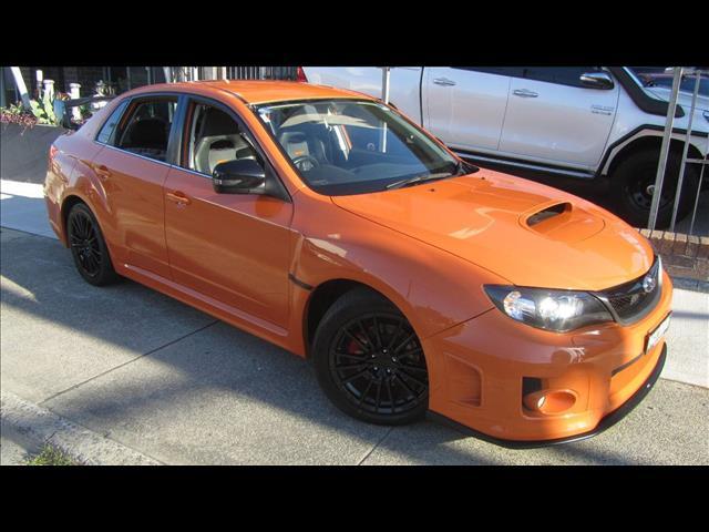 2012 SUBARU WRX CLUB SPEC (AWD) MY13 4D SEDAN