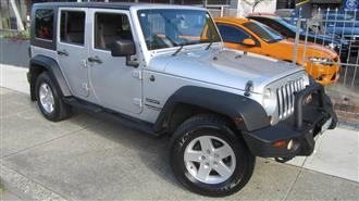 2009 JEEP WRANGLER UNLIMITED SPORT 4X4 JK MY09 4D SOFTTOP