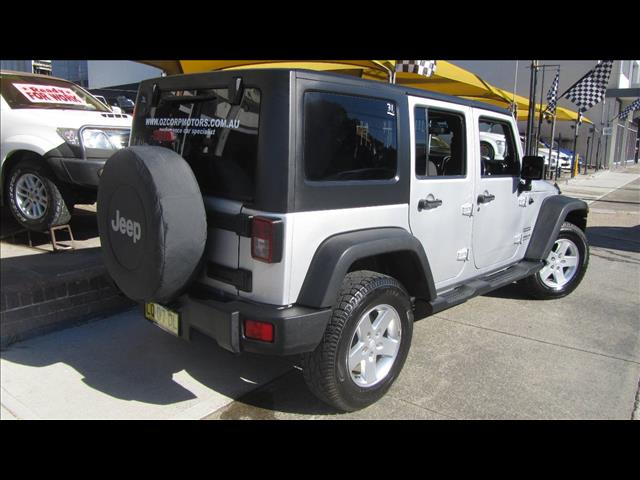 2012 JEEP WRANGLER UNLIMITED SPORT 4X4 JK MY12 4D SOFTTOP