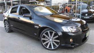 2009 HOLDEN COMMODORE SS-V VE MY10 4D SEDAN