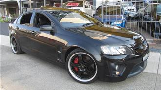 2006 HOLDEN SPECIAL VEHICLE GTS  E SERIES 4D SEDAN