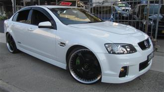 2012 HOLDEN COMMODORE SS VE II MY12 4D SEDAN