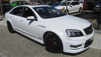 2007 HOLDEN SPECIAL VEHICLE GRANGE  WM 4D SEDAN