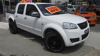 2014 GREAT WALL V200 4X2 K2 DUAL CAB UTILITY
