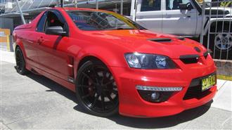 2009 HOLDEN SPECIAL VEHICLE MALOO R8 E2 UTILITY