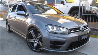 2014 VOLKSWAGEN GOLF R AU MY15 5D HATCHBACK