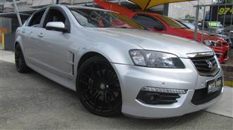 2010 HOLDEN SPECIAL VEHICLE SENATOR SIGNATURE E3 4D SEDAN