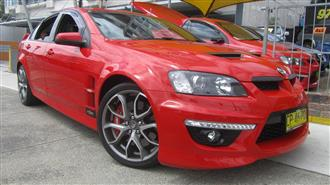 2010 HOLDEN SPECIAL VEHICLE CLUBSPORT R8 E2 SERIES 4D SEDAN