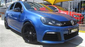2012 VOLKSWAGEN GOLF R 1K MY13 5D HATCHBACK
