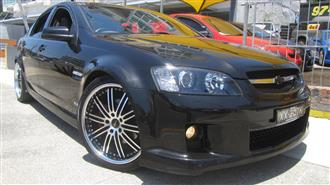 2006 HOLDEN COMMODORE SS-V VE 4D SEDAN