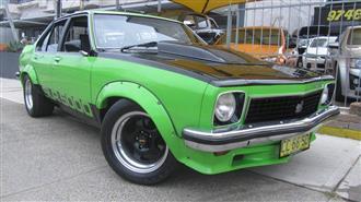 1976 HOLDEN TORANA SLR 5000 LX 4D SEDAN