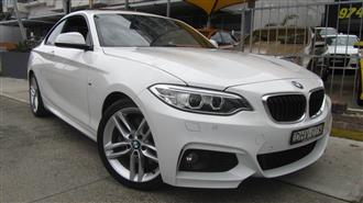2016 BMW 228I M-SPORT F22 MY16 2D COUPE
