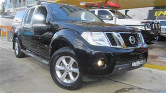2012 NISSAN NAVARA ST-X 550 4X4 D40 MY12 DUAL CAB UTILITY