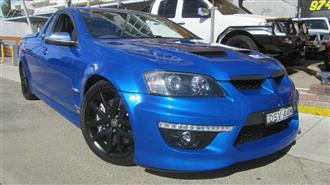 2010 HOLDEN SPECIAL VEHICLE MALOO GXP E2 SERIES UTILITY