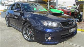 2013 SUBARU WRX STI SPEC R AWD MY13 4D SEDAN