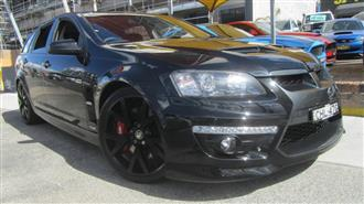 2008 HOLDEN SPECIAL VEHICLE CLUBSPORT R8 TOURER E-SERIES MY08 UPGRADE 4D WAGON