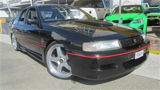 1990 HOLDEN SPECIAL VEHICLE COMMODORE SS GROUP A VN 4D SEDAN