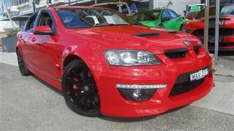 2010 HOLDEN SPECIAL VEHICLE CLUBSPORT R8 E3 4D SEDAN