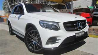 2017 MERCEDES-BENZ GLC 220D 253 MY17 4D WAGON