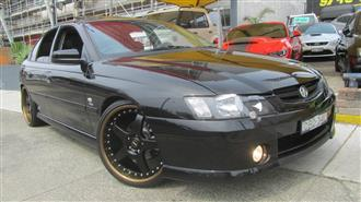2003 HOLDEN COMMODORE SS VY 4D SEDAN