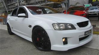 2009 HOLDEN COMMODORE SS VE MY09.5 4D SEDAN