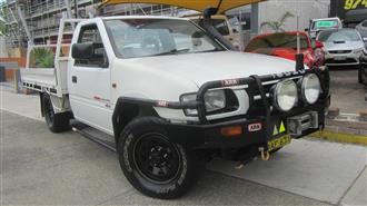 2001 HOLDEN RODEO LX 4X4 TFG6 SPACE CCHAS