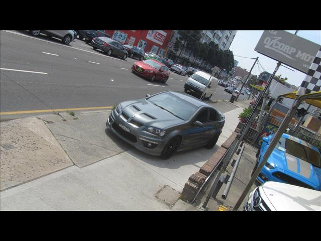 2012 HOLDEN SPECIAL VEHICLE CLUBSPORT R8 E3 MY12 4D SEDAN