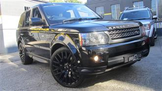 2010 LAND ROVER RANGE ROVER SPORT 5.0 V8 SUPERCHARGED MY10 4D WAGON