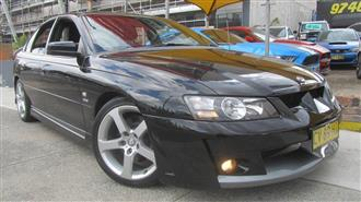 2004 HOLDEN SPECIAL VEHICLE CLUBSPORT  YII 4D SEDAN