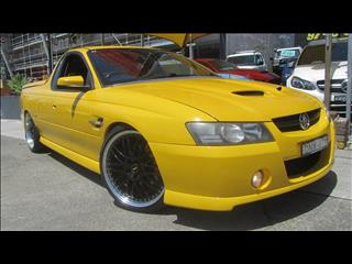 2006 HOLDEN COMMODORE SS THUNDER VZ MY06 UTILITY