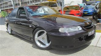 1997 HOLDEN SPECIAL VEHICLE CLUBSPORT  VSII 4D SEDAN