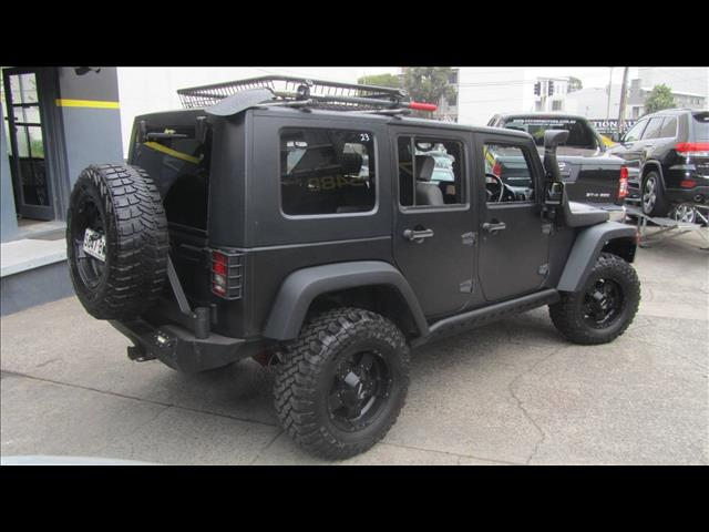 2010 JEEP WRANGLER UNLIMITED SPORT 4X4 JK MY09 4D SOFTTOP